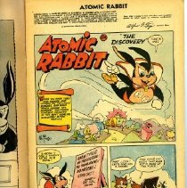 Image of Atomic Rabbit Comic Book