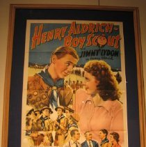 Image of Henry Aldrich Boy Scout Movie Poster