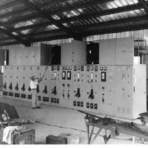 Image of 11.48.246 - Pacific Proving Grounds--Power Plant on Parry Island.