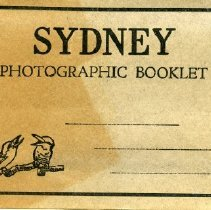 Image of Photographic Booklet from Sydney