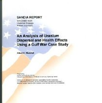 Image of An Analysis of Uranium Dispersal and Health Effects Using a Gulf War Case S