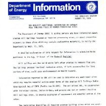 Image of DOE Requests Additional Information on Uranium Mill Tailings