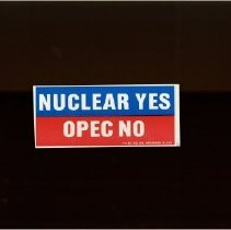 Image of NUCLEAR YES OPEC NO