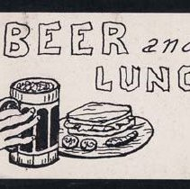 Image of Alphabet Scrap Book, Beer n Lunch - Meyer, Ernest A.