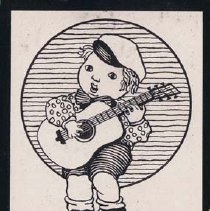 Image of Alphabet Scrap Book, Boy Playing Guitar - Meyer, Ernest A.
