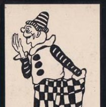Image of Alphabet Scrap Book, Clown - Meyer, Ernest A.