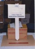 Image of VRC Ceremony Pathway Signpost