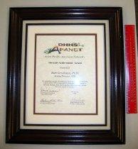 Image of 01.0021.002 - Certificate, Achievement