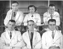 Image of Harold L. Stewart Photograph Collection - Residents at the NIH Clinical Center Pathological Anatomy Department 1957-1958