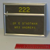 Image of 04.0009.001 - Nameplate