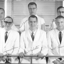 Image of Harold L. Stewart Photograph Collection - Residents at the NIH Clinical Center Pathological Anatomy Department 1959-60