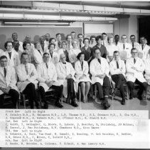Image of Harold L. Stewart Photograph Collection - NCI Laboratory of Pathology Staff 1965-1966