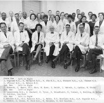 Image of Harold L. Stewart Photograph Collection - NCI Laboratory of Pathology Staff 1959-1960