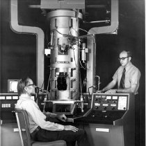 Image of National Center for Research Resources - Drs. Hans Ris and Dale Johnson