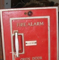 Image of Faraday Fire Alarm Box:  Building 2