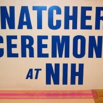Image of Natcher Building Opening Ceremony Sign