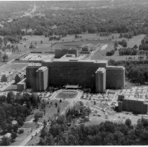 Image of Aerial Views - Clinical Center at the NIH