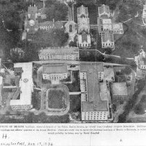 Image of Aerial Views - Early photograph of the Washington, DC site of the National Institute of Health