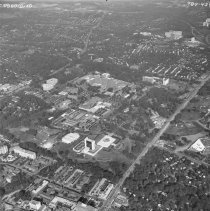 Image of Aerial Views - Aerial shots of the NIH buildings and grounds