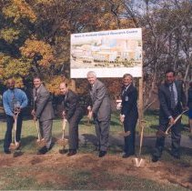Image of Campus Buildings - Groundbreaking for the Mark O. Hatfield Clinical Research Center