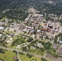 Image of Aerial Views - Aerial of the NIH campus, ca. 2004