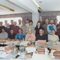 Image of Center for Scientific Review Photographs - Genetic Sciences Intergrated Review Group, roster and photographl