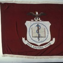 Image of Office of History Photograph Collection - Department of Health, Education and Welfare Flag