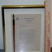 Image of Pen used to sign Public Act 251