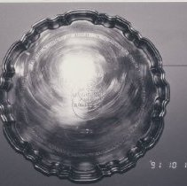 Image of World Federation on Nuclear Medicine and Biology Silver Tray, 1978