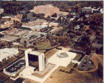 Image of Aerial view of National Library of Medicine and NIH
