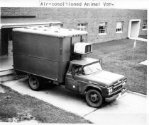 Image of William Gay Photograph Collection - Air-conditioned animal van
