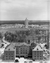Image of Aerial Views - Naval Medical Center and Building 1