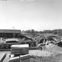 Image of Campus Buildings - Building 14 construction