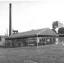 Image of NIH Institutes - Fort Detrick chemical storage shed