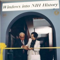 Image of Office of History Photograph Collection - Dedication of the DeWitt Stetten, Jr. Museum of Medical Research