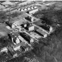 Image of Aerial Views - Early aerial view of the National Institute of Health