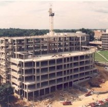 Image of Campus Buildings - September 1990 Building 49 construction progress