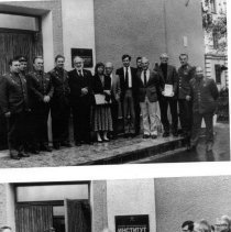 Image of Office of History Photograph Collection - Dr. Chanock at the Leningrad Institute of Military Medicine