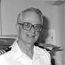 Image of Office of History Photograph Collection - Dr. Robert Chanock in the U.S. Public Health Service uniform