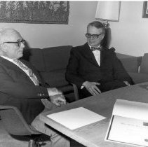 Image of Office of History Photograph Collection - Robert M. Chanock at the R. E. Dyer Lecture