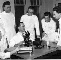 Image of Rocky Mountain Laboratory Photographs - Rocky Mountain Laboratory typhus research