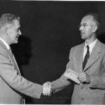 Image of Rocky Mountain Laboratory Photographs - Dr. Carl Larson and Nick Kramis