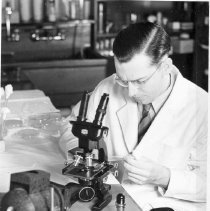 Image of Rocky Mountain Laboratory Photographs - Dr. Edward A. Steinhaus
