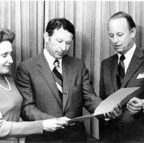 Image of NIH Directors - Ruth Kirschstein, Paul Berg and Donald Fredrickson