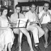 Image of Maxine Singer, Bruce Ames, Jessi Rabinowitz and Victor Ginsberg