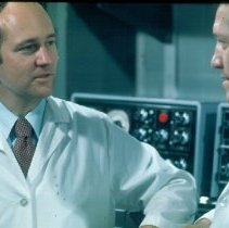 Image of Drs. Purcell and Gerin in the NIAID laboratory