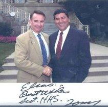 Image of NIH Directors - Elias Zerhouni at the White House
