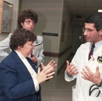 Image of NIH Campus Visits - Maryland Senator Barbara Mikulski visit to NIH