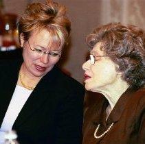 Image of NIH Directors - Debra R. Lappin and Ruth Kirschstein