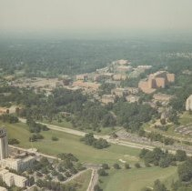 Image of Aerial view of the NIH campus
